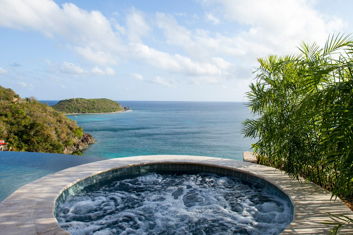 Hot Tub And Ocean View